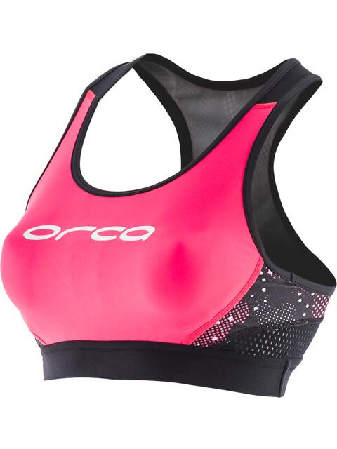 ORCA Core Support Bra Women Black/Merengue